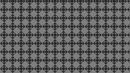 Black and Grey Seamless Geometric Square Pattern Background Vector Graphic