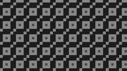 Black Geometric Square Pattern