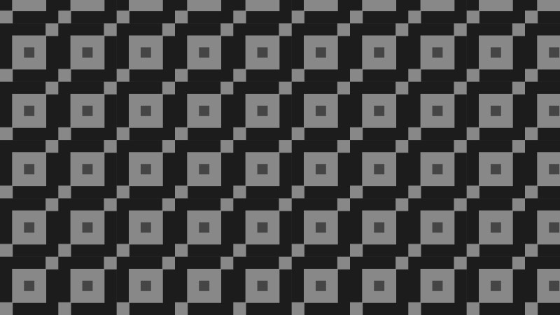 Black Geometric Square Pattern