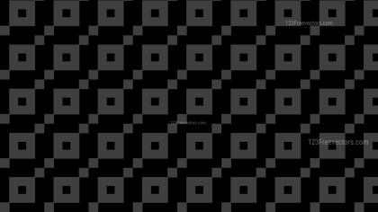 Black Geometric Square Pattern Background
