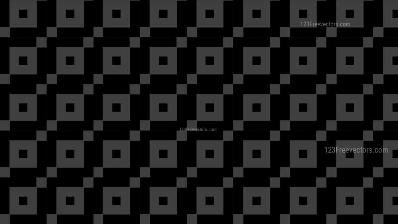 Black Geometric Square Pattern Background