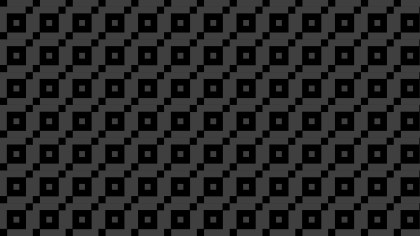 Black Geometric Square Background Pattern