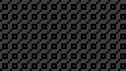 Black Geometric Square Background Pattern