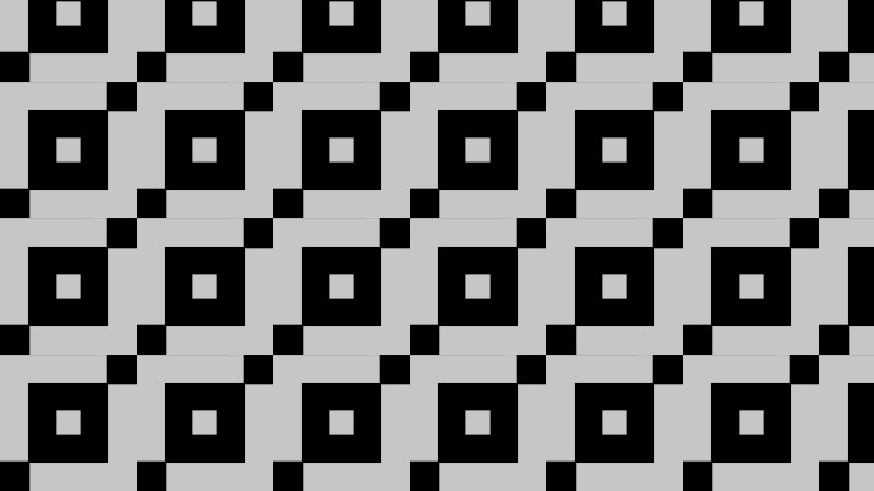 Black and Grey Seamless Square Pattern