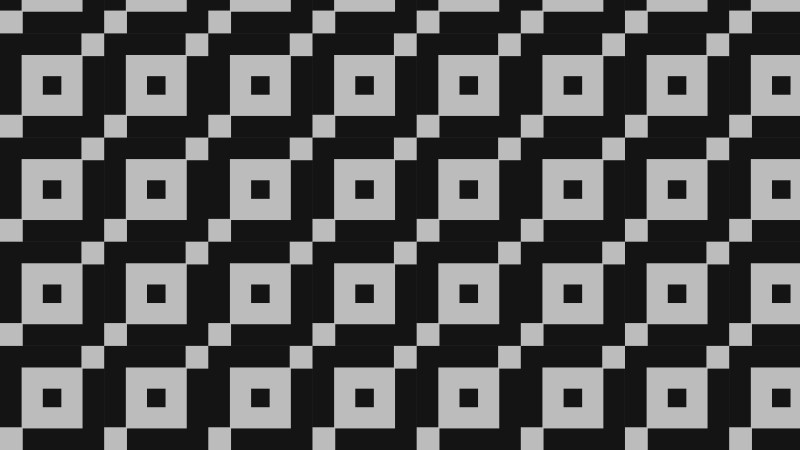 Black and Grey Seamless Square Pattern Background