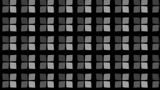 Black Seamless Geometric Square Pattern