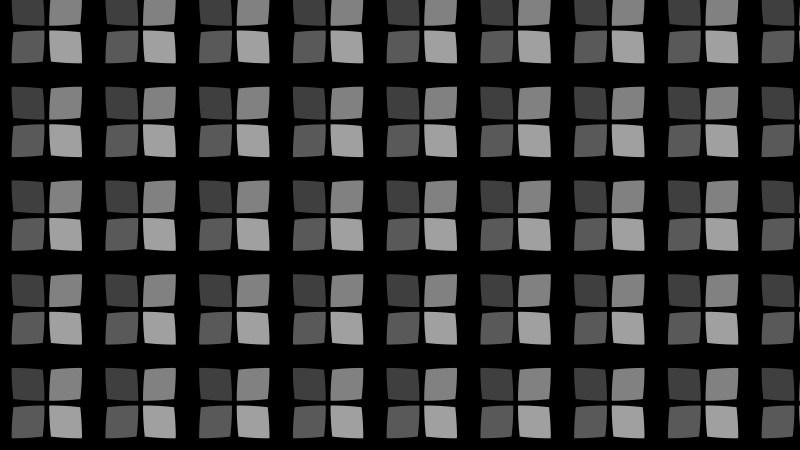 Black Seamless Geometric Square Pattern