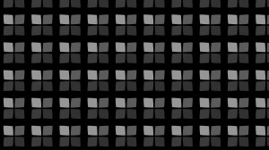 Black Seamless Geometric Square Pattern Background