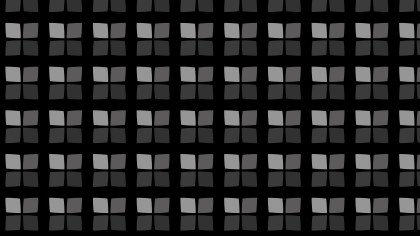 Black Seamless Geometric Square Pattern Background