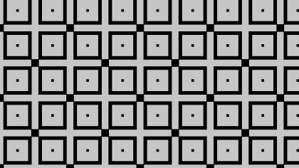 Black and Grey Geometric Square Pattern Illustration