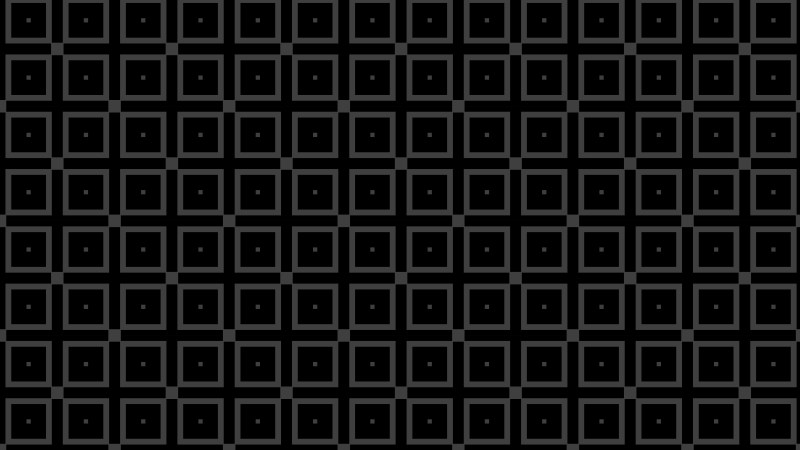 Black Seamless Square Pattern Vector Graphic