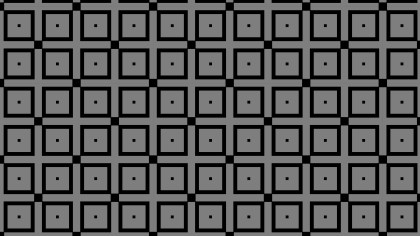 Black and Grey Seamless Square Pattern Background Vector Image
