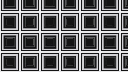 Black and Grey Seamless Concentric Squares Pattern