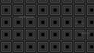 Black Seamless Concentric Squares Background Pattern