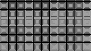 Black and Grey Concentric Squares Pattern Graphic
