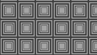 Black and Grey Concentric Squares Background Pattern Design