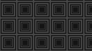 Black Seamless Concentric Squares Pattern Background Vector Graphic