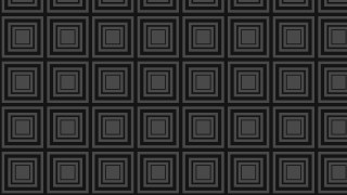 Black Seamless Concentric Squares Background Pattern Vector Image