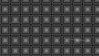 Black and Grey Concentric Squares Pattern Background