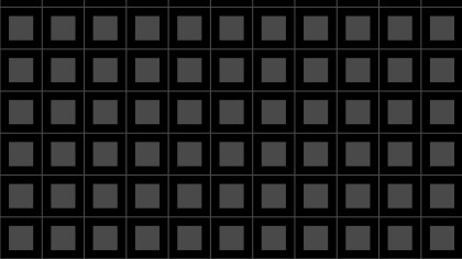 Black Seamless Geometric Square Pattern Vector Illustration