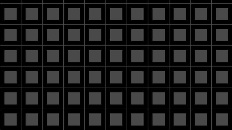 Black Seamless Geometric Square Pattern Vector Illustration