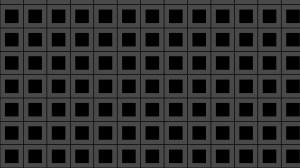 Black Seamless Geometric Square Pattern Background Vector