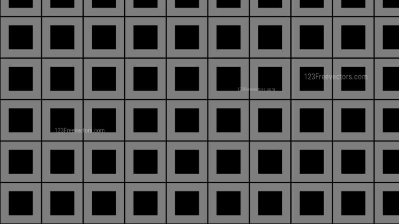 Black Square Pattern Background