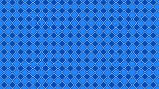 Blue Seamless Square Background Pattern