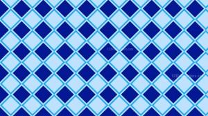 Blue Seamless Geometric Square Background Pattern