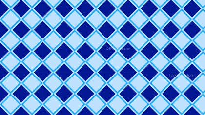 Blue Seamless Geometric Square Background Pattern