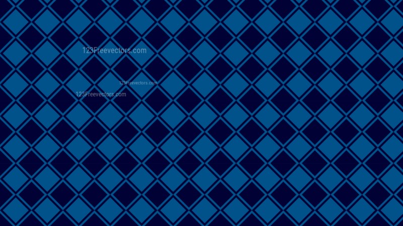 Navy Blue Geometric Square Pattern Vector Image