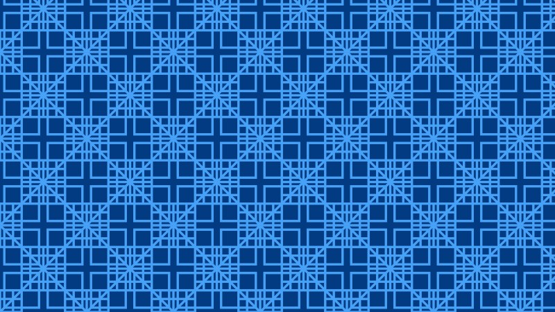 Blue Seamless Square Pattern Vector