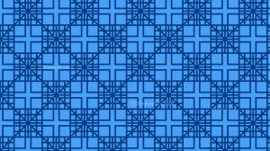 Blue Seamless Square Pattern Background Vector Art
