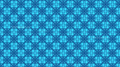 Blue Seamless Geometric Square Background Pattern Image