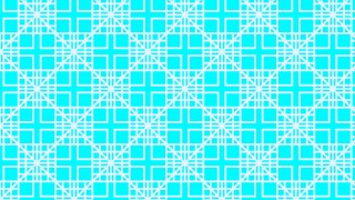 Cyan Square Background Pattern