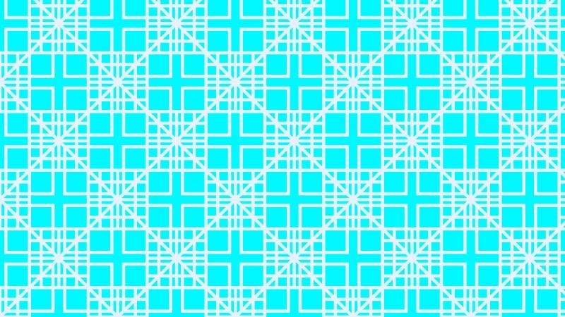Cyan Square Background Pattern