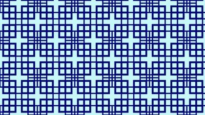 Blue Geometric Square Background Pattern
