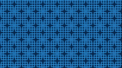 Navy Blue Seamless Square Pattern