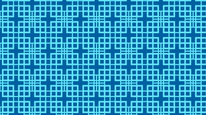 Blue Seamless Geometric Square Pattern Background