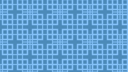 Blue Square Pattern Illustrator
