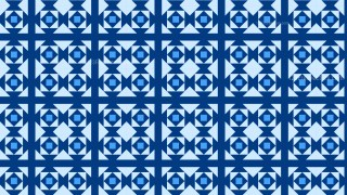 Blue Geometric Square Pattern Vector Art