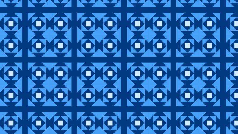 Blue Geometric Square Pattern Background Graphic