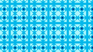 Blue Geometric Square Background Pattern Illustration
