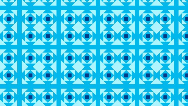 Blue Geometric Square Background Pattern Illustration
