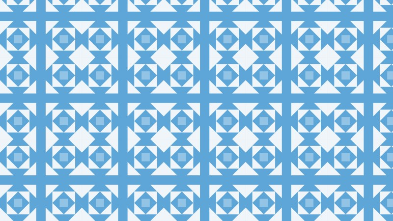Light Blue Seamless Geometric Square Pattern Vector Image