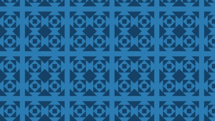 Dark Blue Square Pattern Background