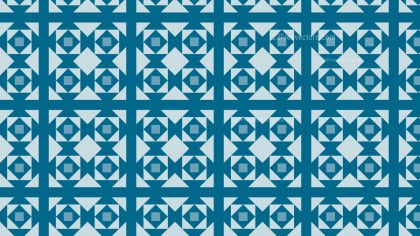 Blue Geometric Square Pattern