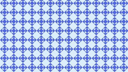 Blue Seamless Geometric Square Pattern