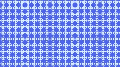 Cobalt Blue Seamless Geometric Square Pattern Background