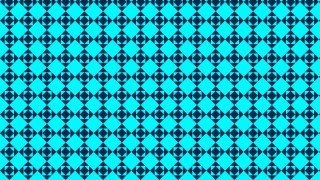Turquoise Square Pattern Graphic
